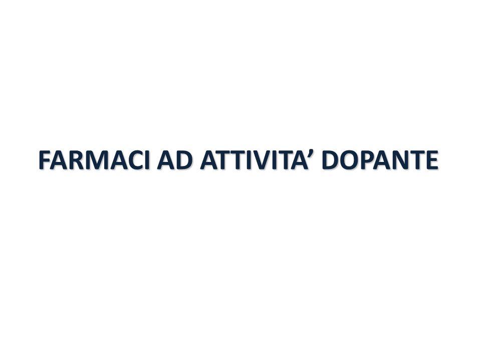FARMACI AD ATTIVITA' DOPANTE
