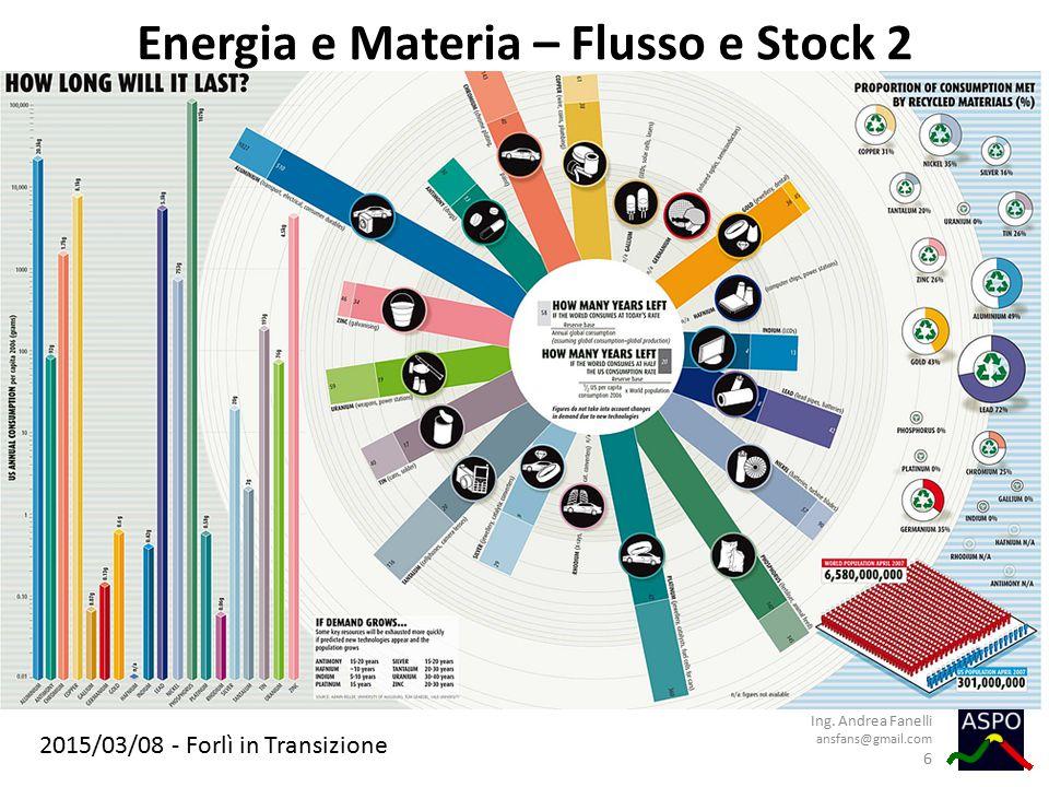 Energia e Materia – Flusso e Stock 2