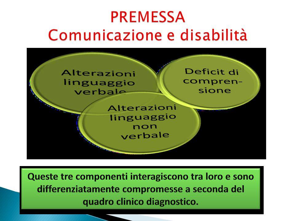 PREMESSA Comunicazione e disabilità