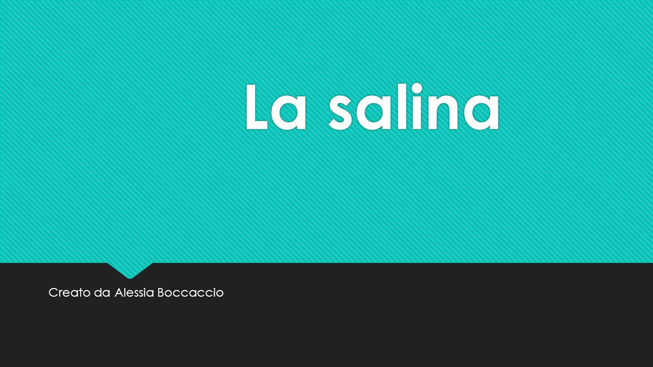 Creato da Alessia Boccaccio