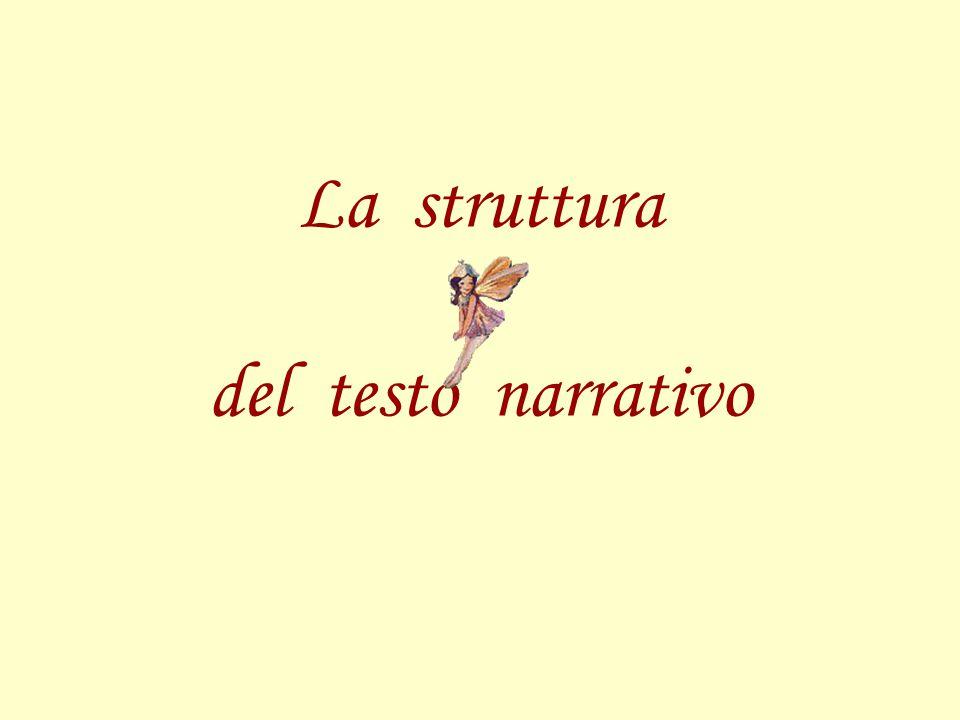 La struttura del testo narrativo