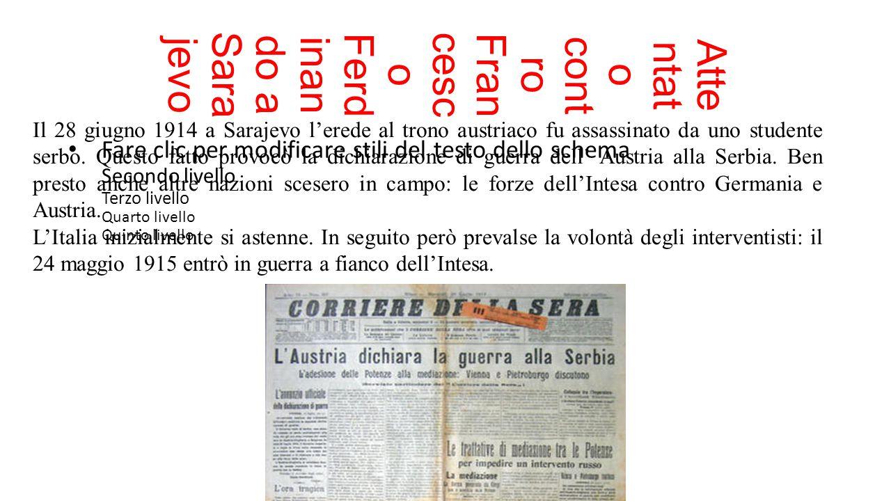 Attentato contro Francesco Ferdinando a Sarajevo