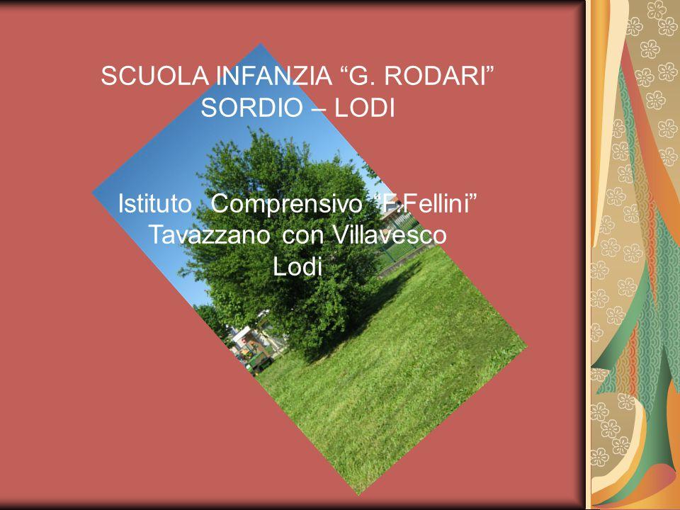 SCUOLA INFANZIA G. RODARI SORDIO – LODI