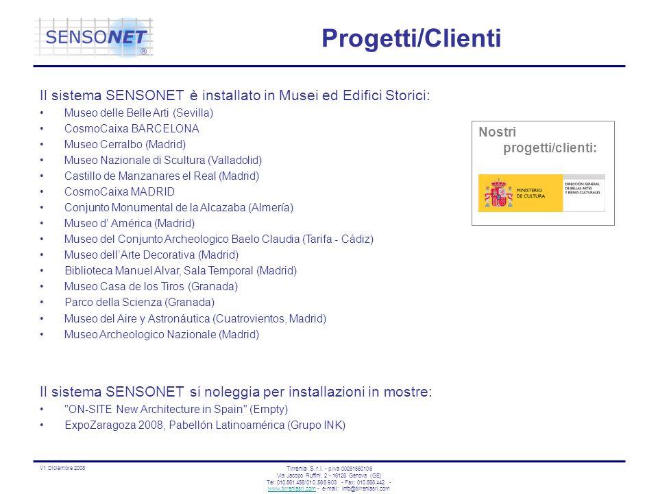 Progetti/ClientiIl sistema SENSONET è installato in Musei ed Edifici Storici: Museo delle Belle Arti (Sevilla)
