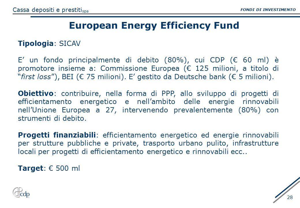 European Energy Efficiency Fund