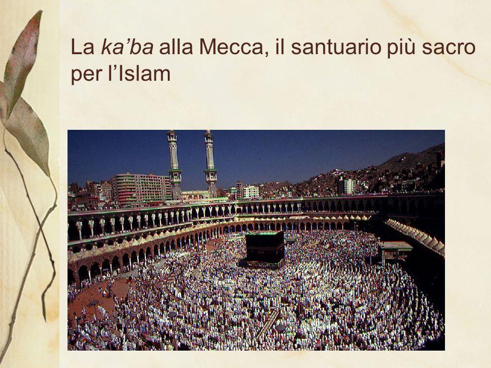 La ka'ba alla Mecca, il santuario più sacro per l'Islam