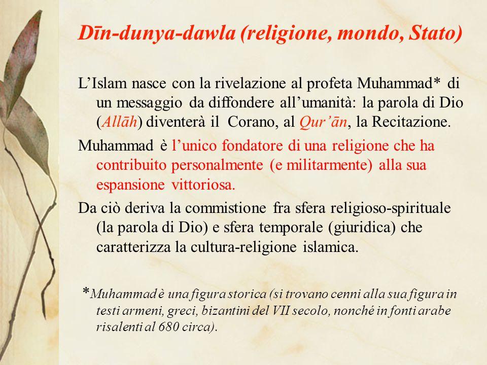 Dīn-dunya-dawla (religione, mondo, Stato)