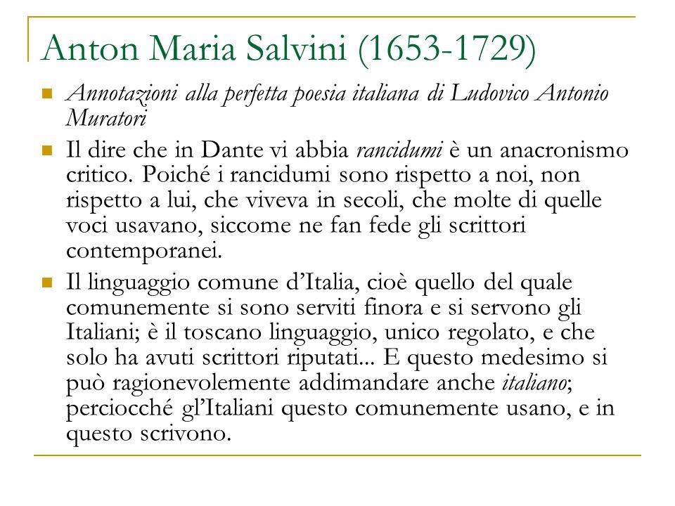 Anton Maria Salvini (1653-1729)