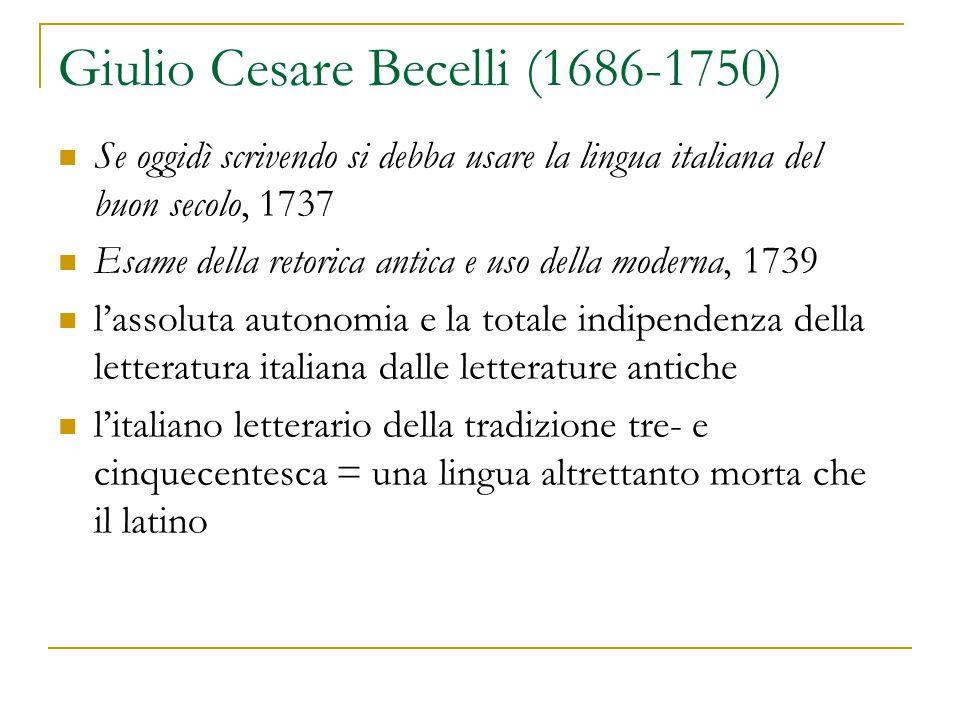 Giulio Cesare Becelli (1686-1750)