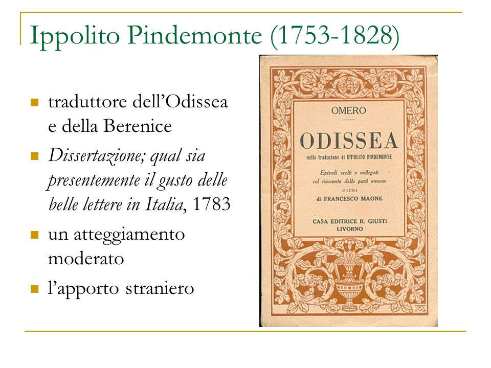 Ippolito Pindemonte (1753-1828)