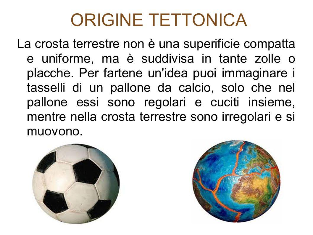ORIGINE TETTONICA