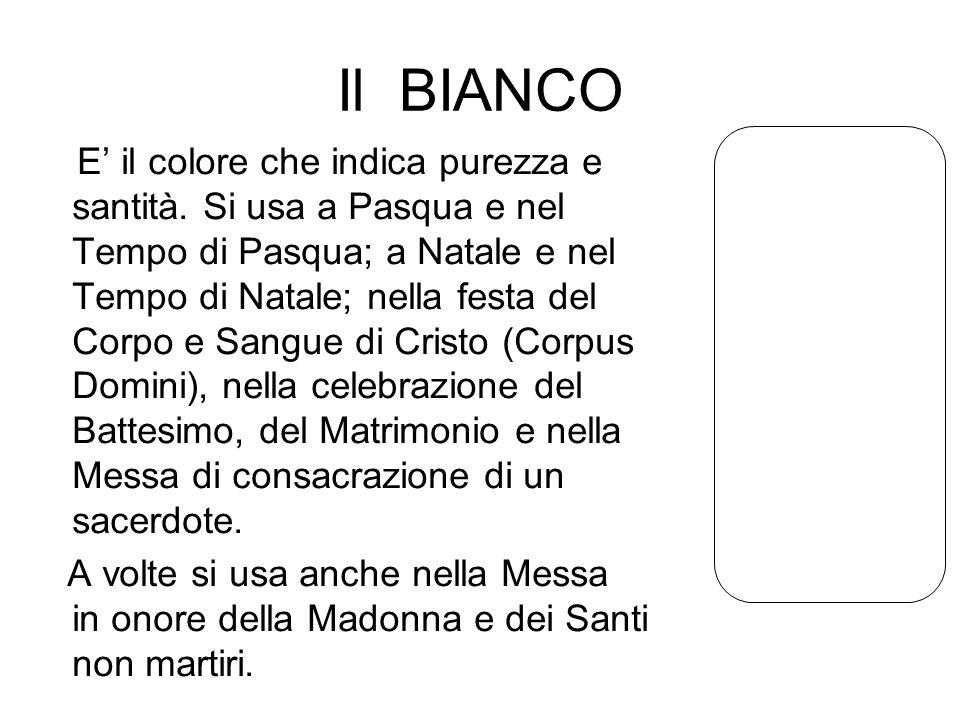 Il BIANCO