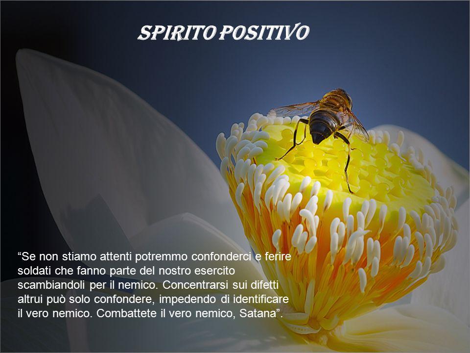 SPIRITO POSITIVO