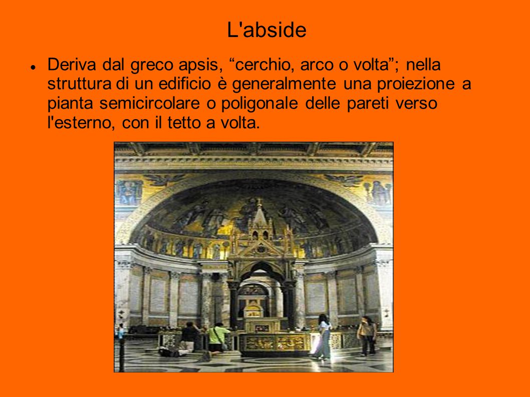 L abside