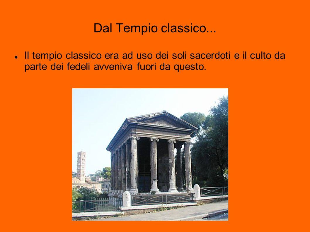 Dal Tempio classico...