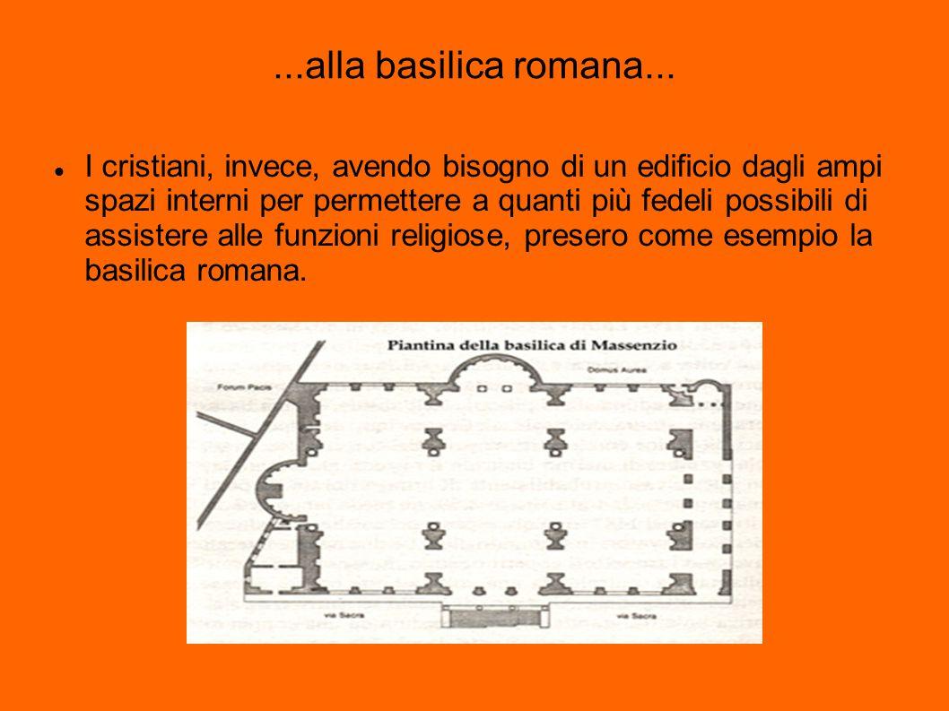 ...alla basilica romana...