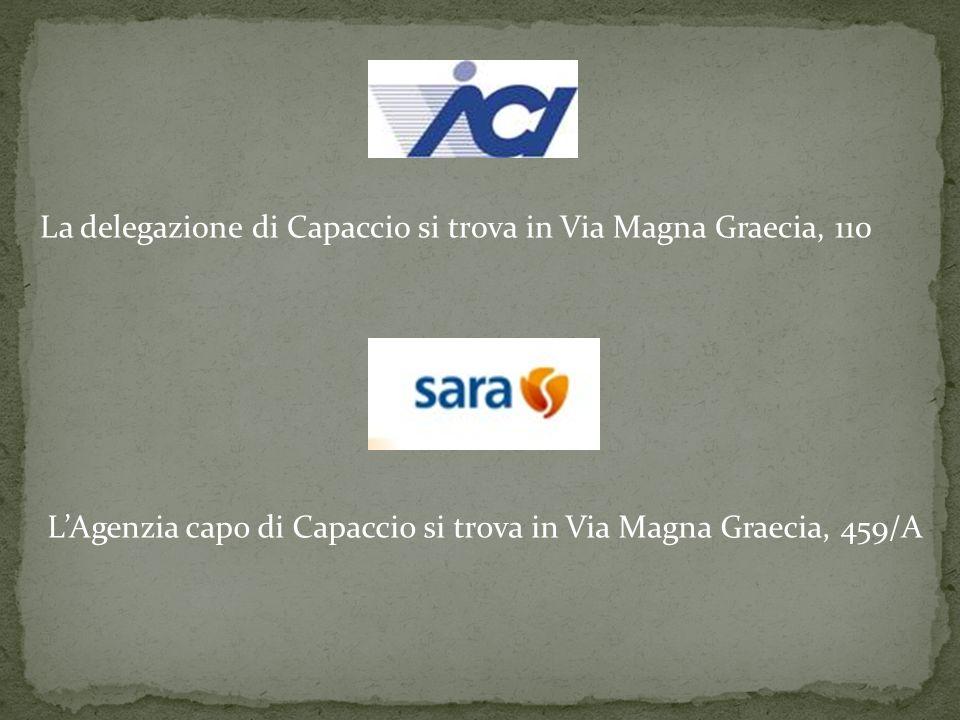 La delegazione di Capaccio si trova in Via Magna Graecia, 110