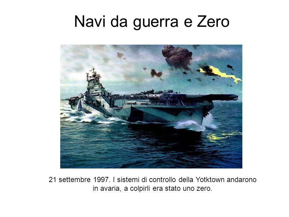 Navi da guerra e Zero 21 settembre 1997.