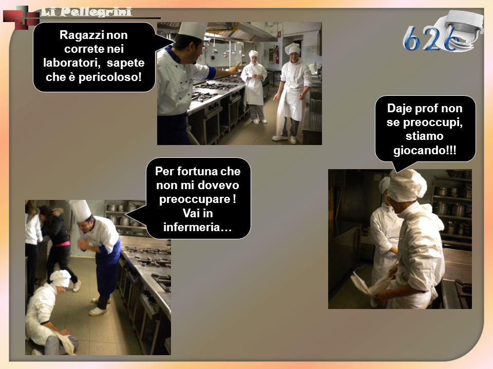 Ragazzi non correte nei laboratori, sapete che è pericoloso!