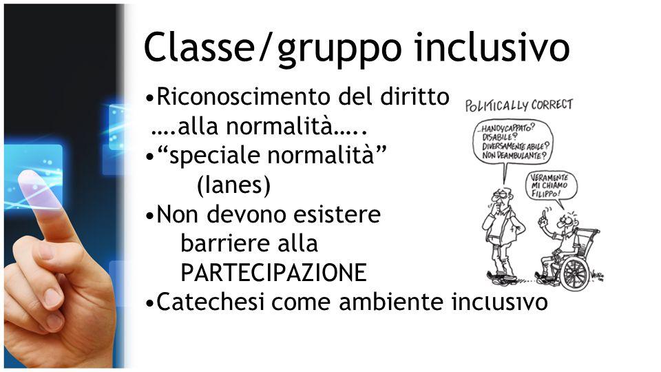 Classe/gruppo inclusivo