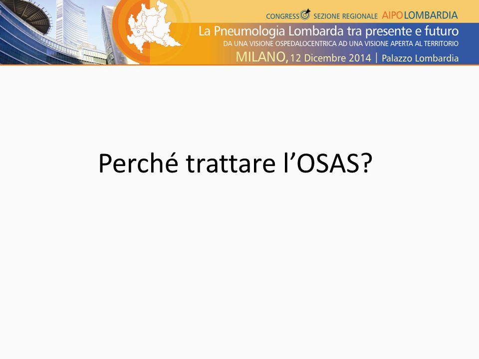 Perché trattare l'OSAS