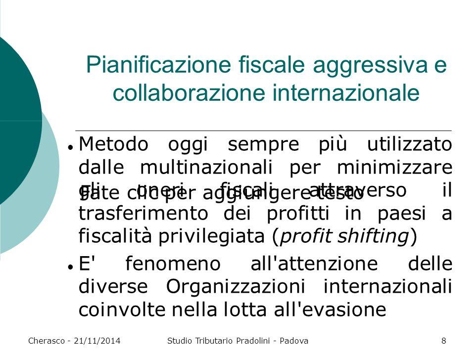 Pianificazione fiscale aggressiva e collaborazione internazionale