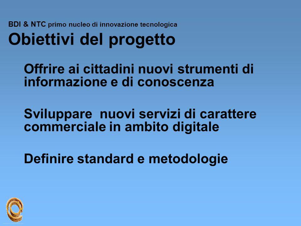 Offrire ai cittadini nuovi strumenti di informazione e di conoscenza