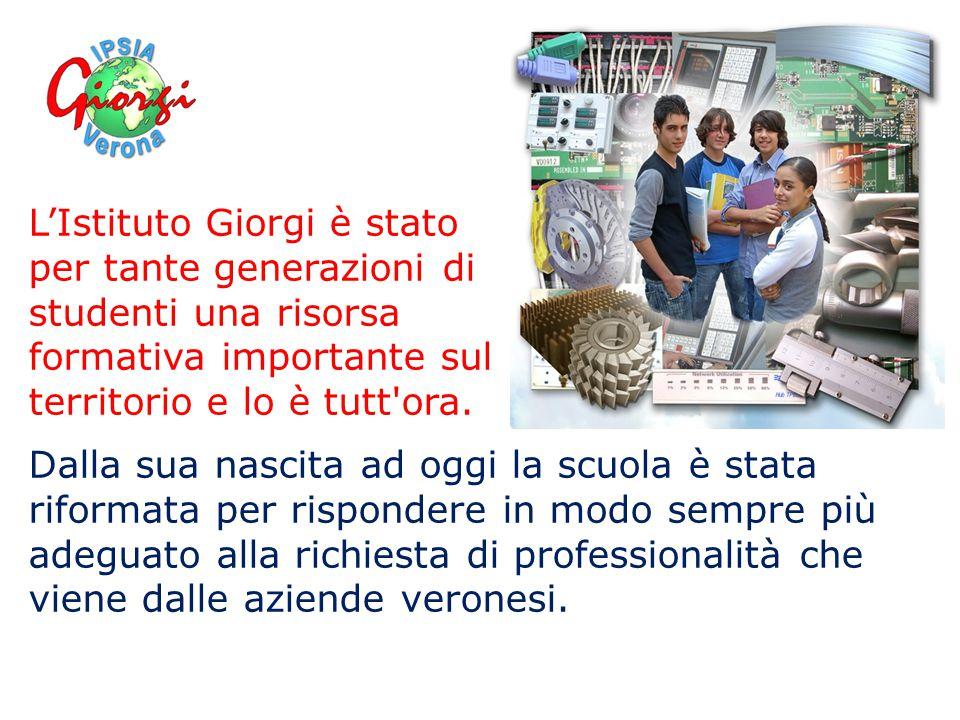 L'Istituto Giorgi è stato per tante generazioni di studenti una risorsa formativa importante sul territorio e lo è tutt ora.