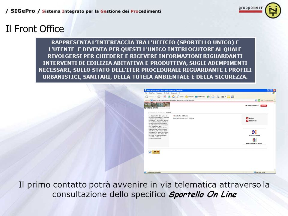 Il Front Office