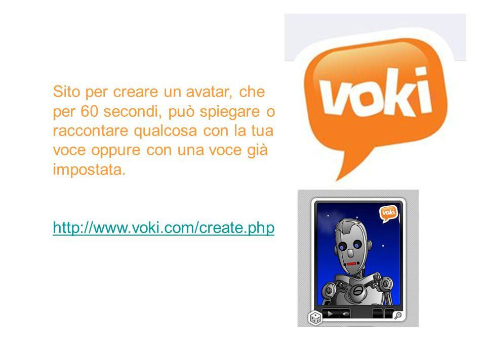 Sito per creare un avatar, che per 60 secondi, può spiegare o raccontare qualcosa con la tua voce oppure con una voce già impostata.