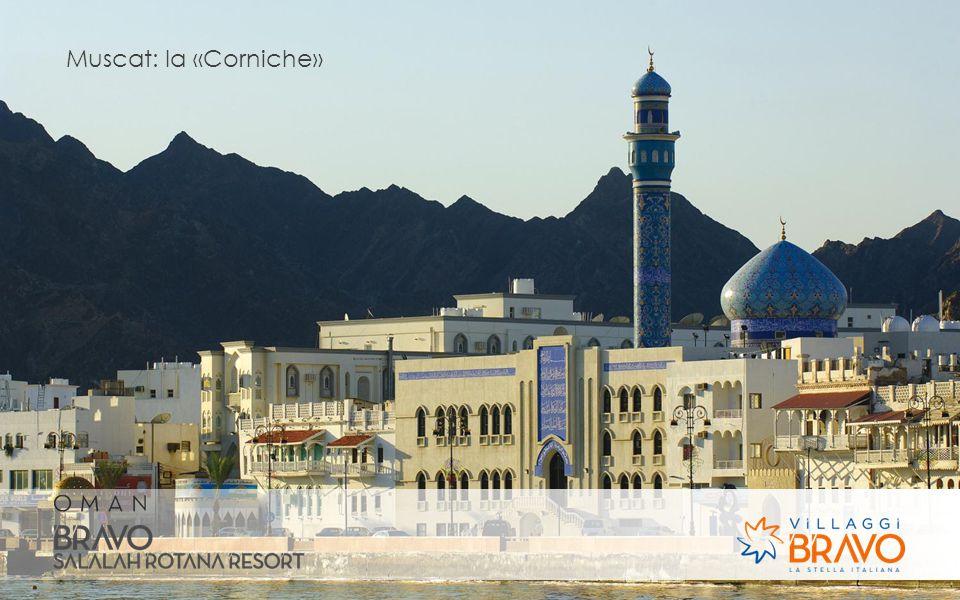 Muscat: la «Corniche»