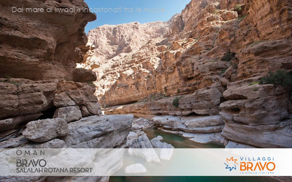 Dal mare ai «wadi « incastonati tra le rocce