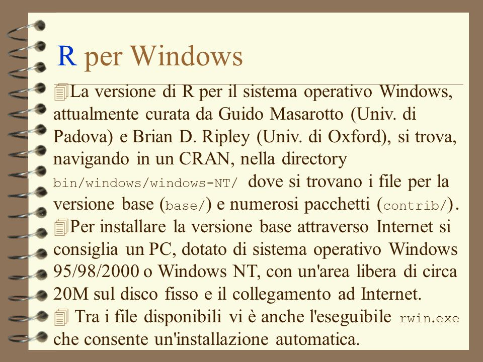 R per Windows
