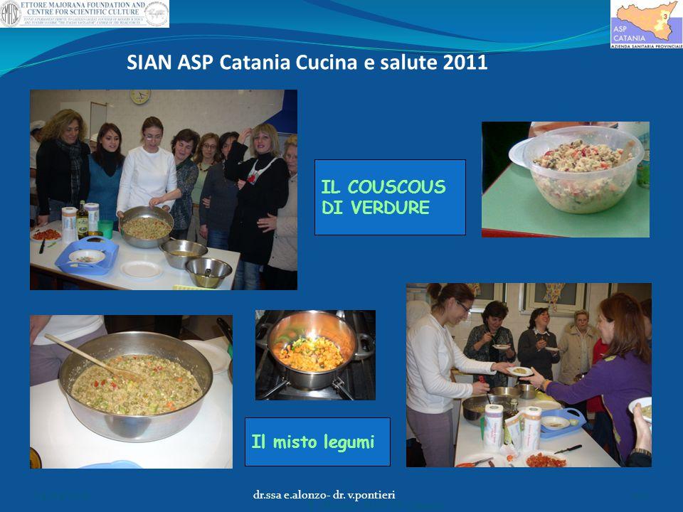 SIAN ASP Catania Cucina e salute 2011