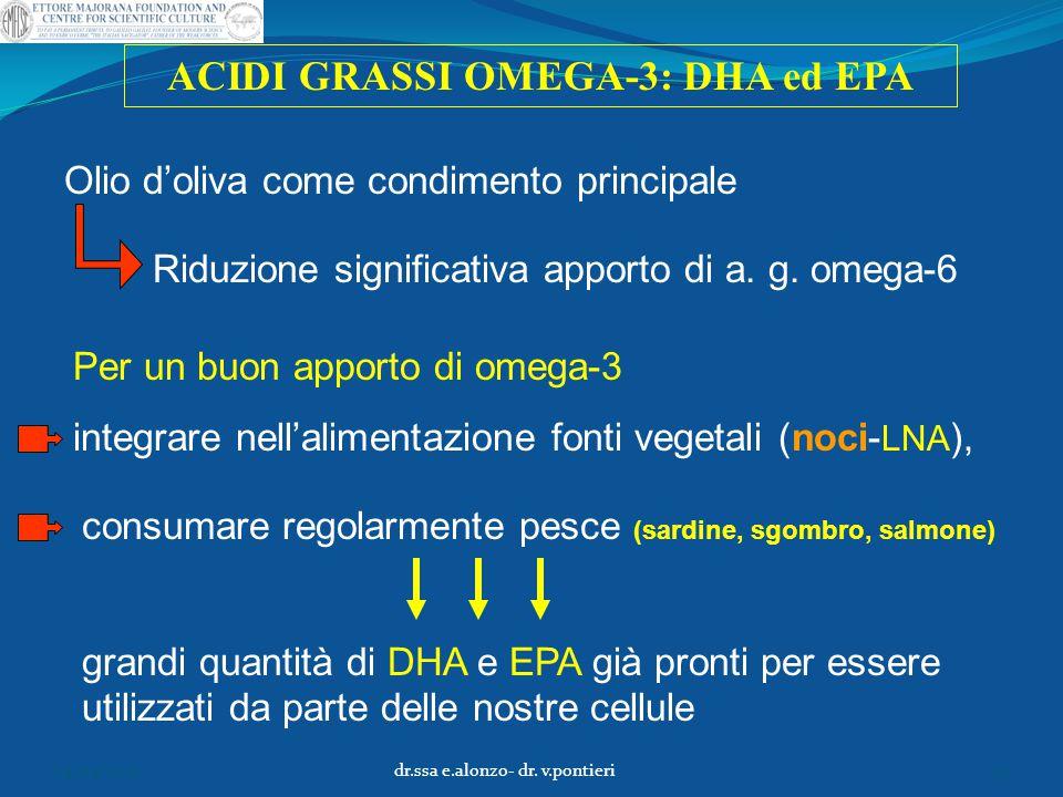 ACIDI GRASSI OMEGA-3: DHA ed EPA