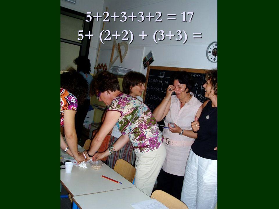5+2+3+3+2 = 17 5+ (2+2) + (3+3) =