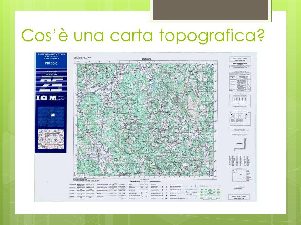 Cos'è una carta topografica