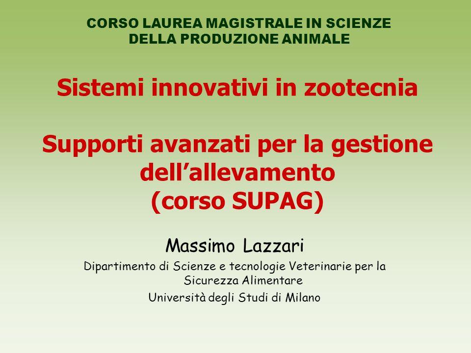 Sistemi innovativi in zootecnia