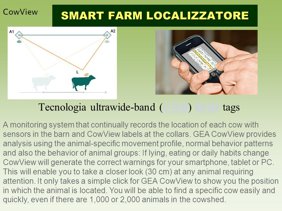 Tecnologia ultrawide-band (UWB) RFID tags