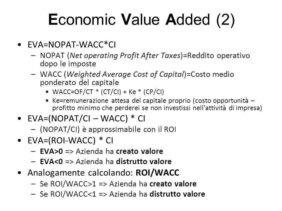 Economic Value Added (2)