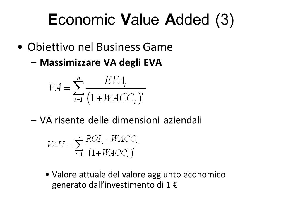 Economic Value Added (3)