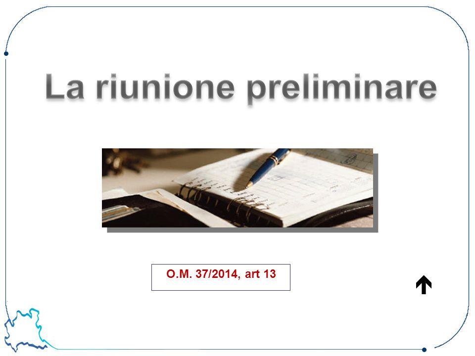 O.M. 37/2014, art 13 