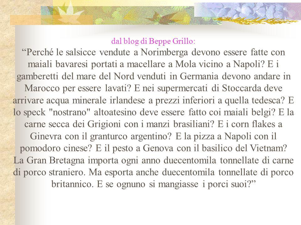 dal blog di Beppe Grillo: