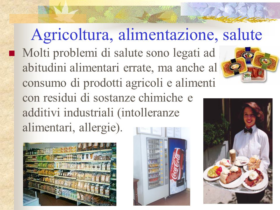Agricoltura, alimentazione, salute