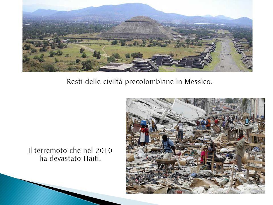 Resti delle civiltà precolombiane in Messico.