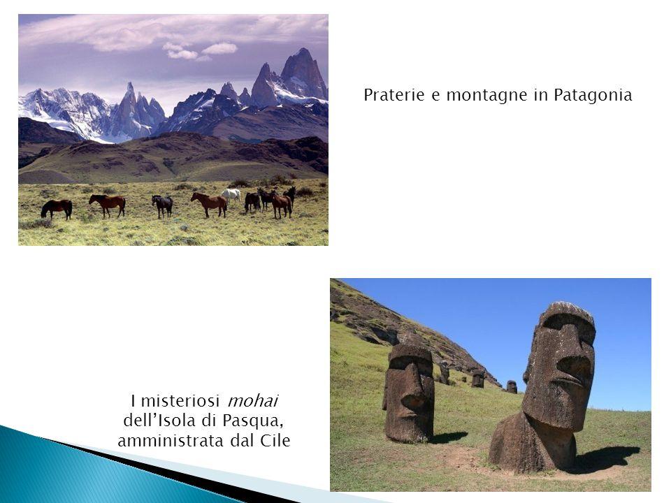 I misteriosi mohai dell'Isola di Pasqua, amministrata dal Cile