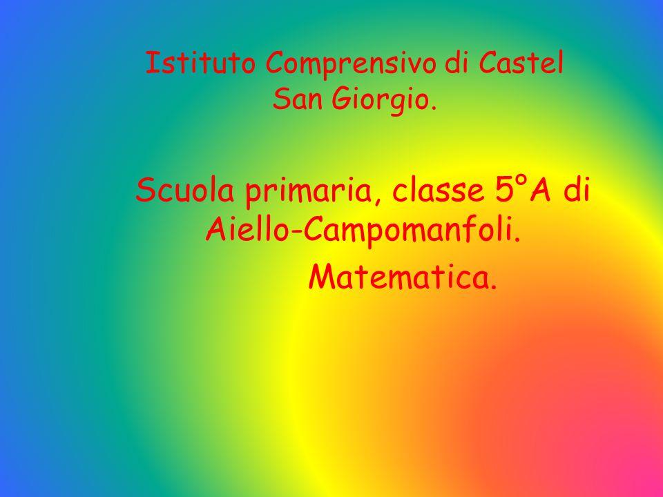 Istituto Comprensivo di Castel San Giorgio.