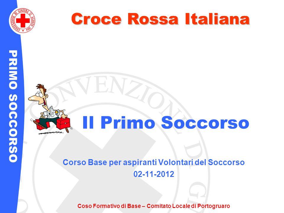 Corso Base per aspiranti Volontari del Soccorso 02-11-2012