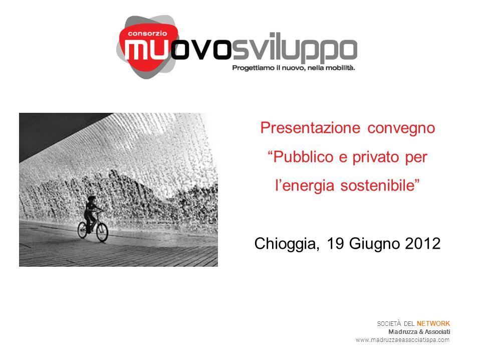 Presentazione convegno Pubblico e privato per l'energia sostenibile