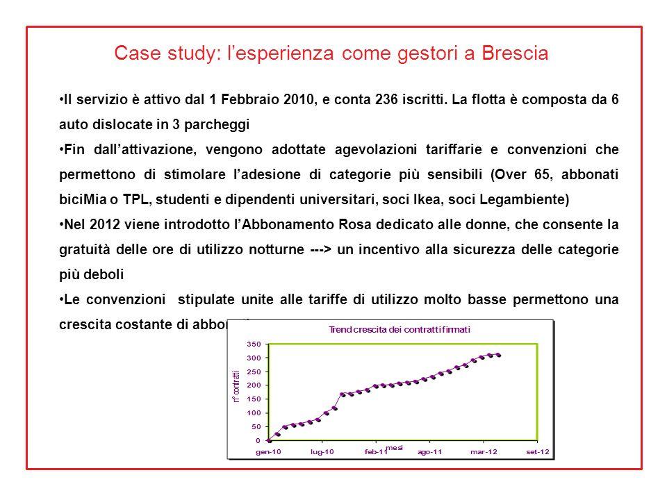 Case study: l'esperienza come gestori a Brescia